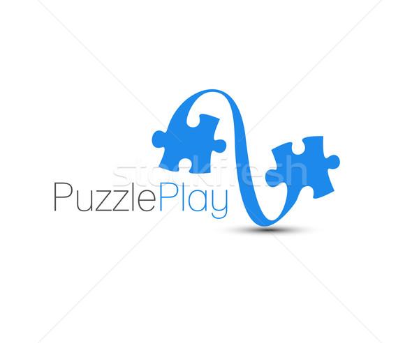 Puzzle Game Stock photo © redshinestudio