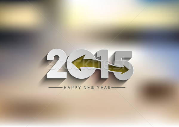 Happy New Year 2015 Background  Stock photo © redshinestudio