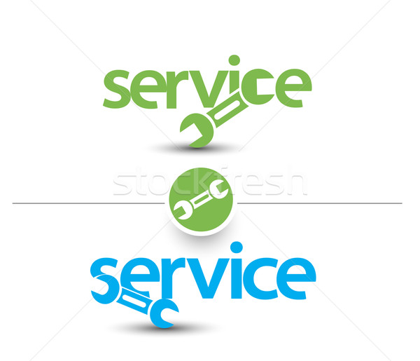 Service Web Icon  Stock photo © redshinestudio