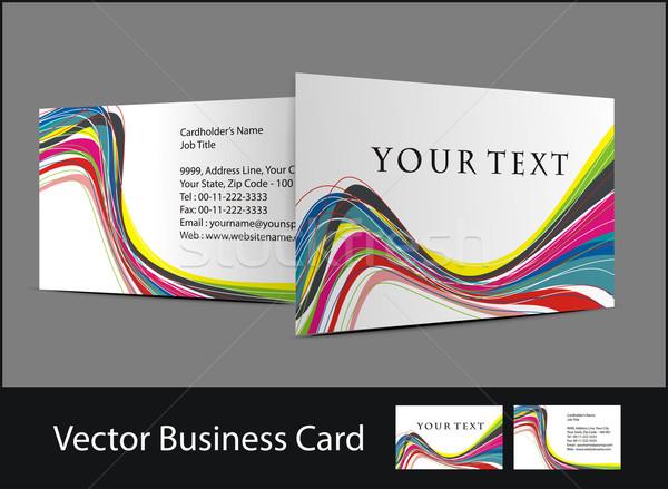 business card Stock photo © redshinestudio