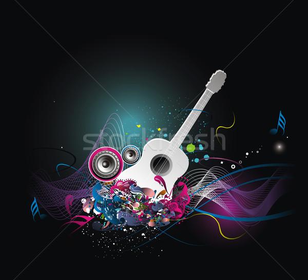music theme Stock photo © redshinestudio