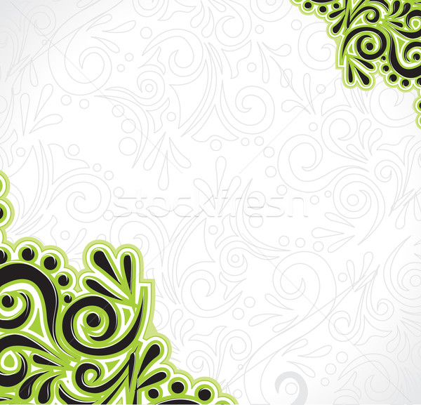 floral pattern Stock photo © redshinestudio
