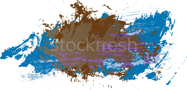 Resumen textura grunge pintura arte espacio wallpaper Foto stock © redshinestudio