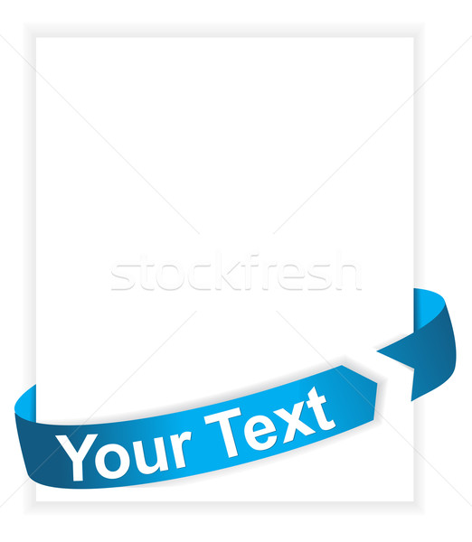 ribbon  Stock photo © redshinestudio