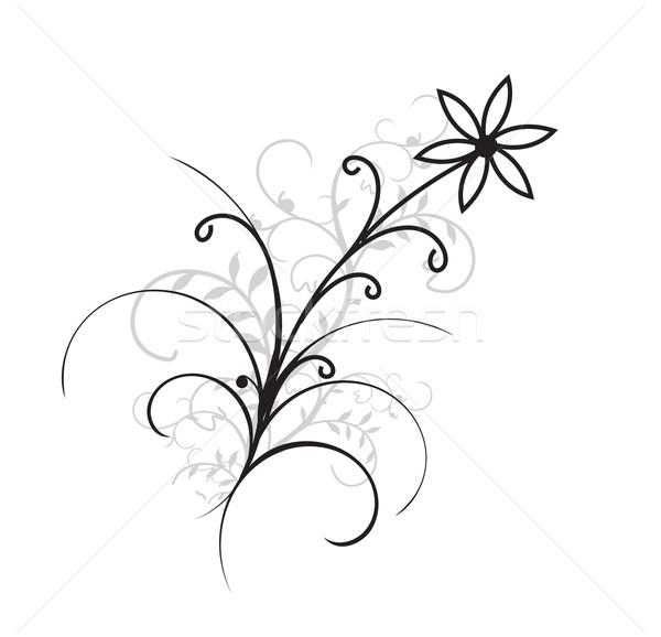 花 ファンタジー 抽象的な ベスト デザイン 蝶 ストックフォト © redshinestudio