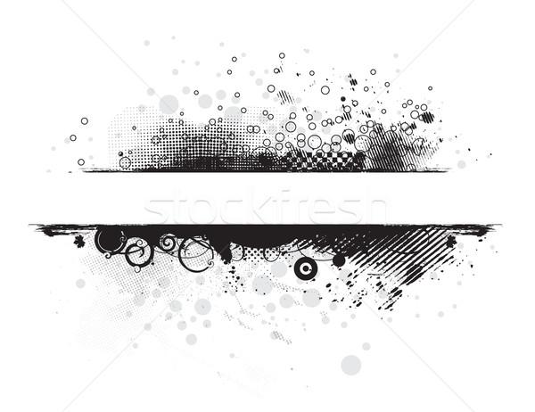 Abstract grunge banners Stock photo © redshinestudio