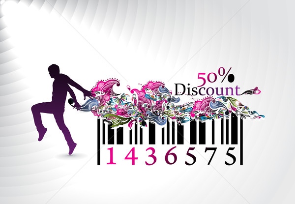 discount banner Stock photo © redshinestudio