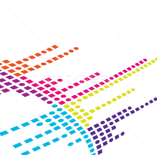 mosaic colorful background  Stock photo © redshinestudio