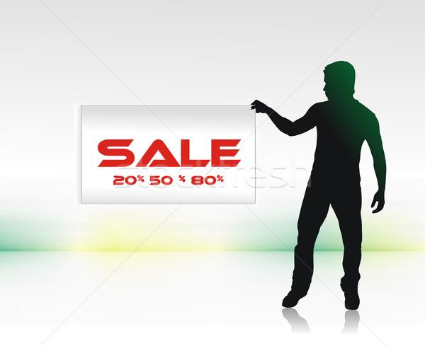 sale concept Stock photo © redshinestudio