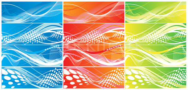 Abstract wave element Stock photo © redshinestudio