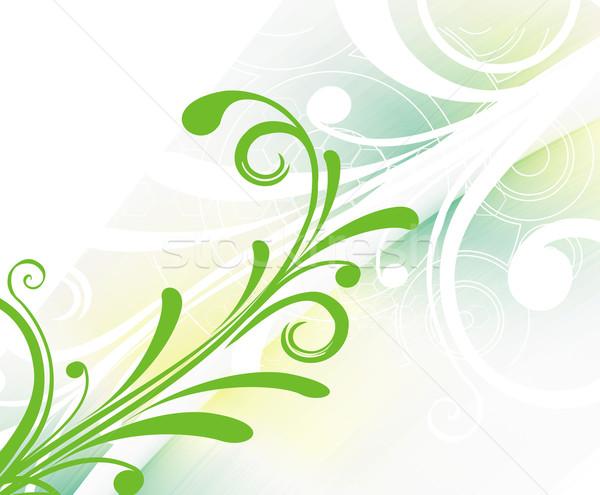 Floral retro background Stock photo © redshinestudio