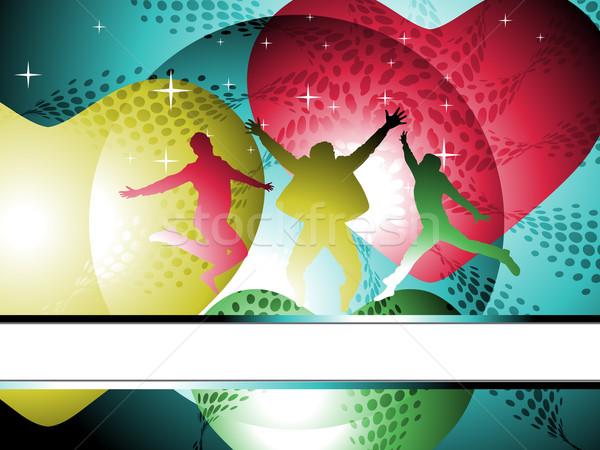 music background Stock photo © redshinestudio