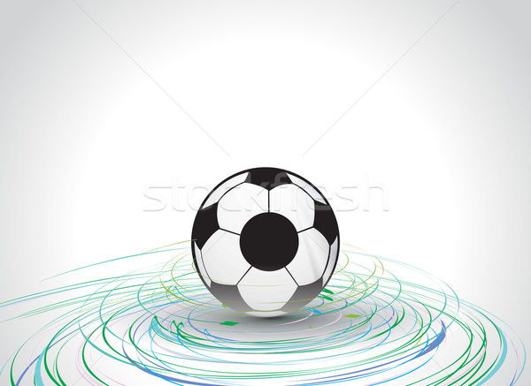 vector football  Stock photo © redshinestudio