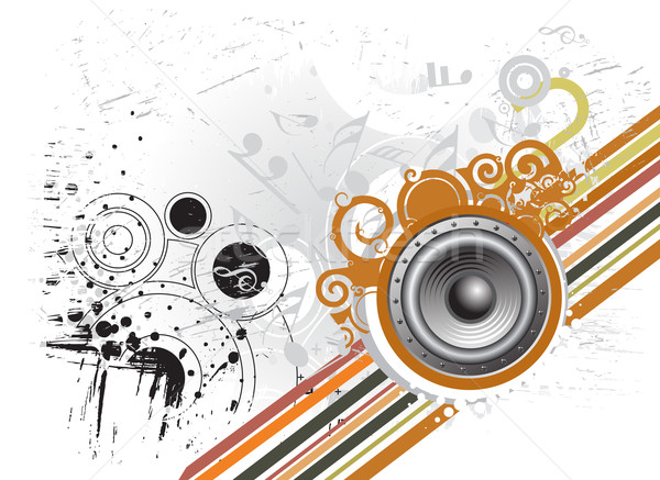 grunge music theme  Stock photo © redshinestudio