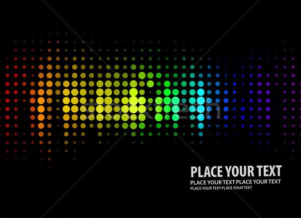 ディスコ ライト パターン 黒 音楽 抽象的な ストックフォト © redshinestudio