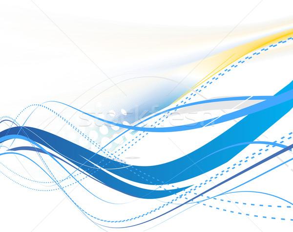 抽象的な 波 行 ハーフトーン テクスチャ 背景 ストックフォト © redshinestudio