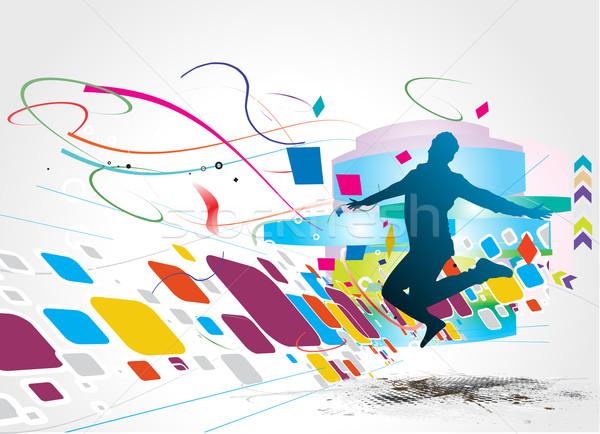 abstract illustration Stock photo © redshinestudio
