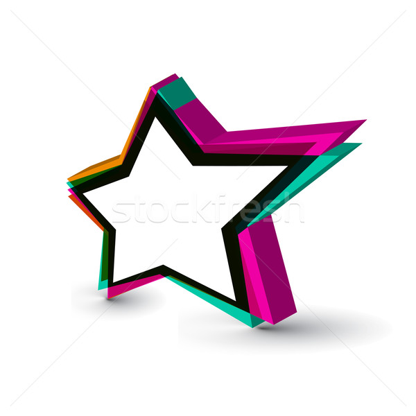 star icons Stock photo © redshinestudio