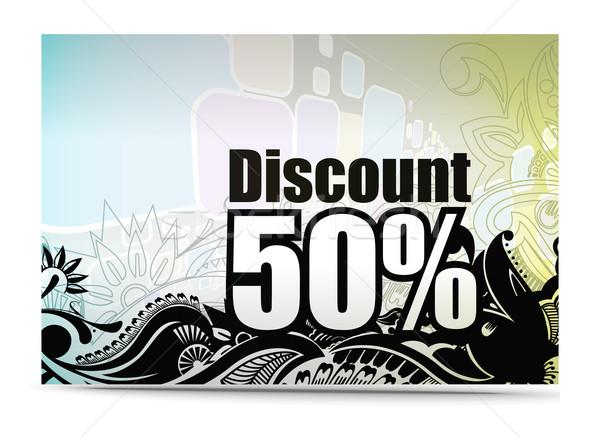 discount 1 Stock photo © redshinestudio