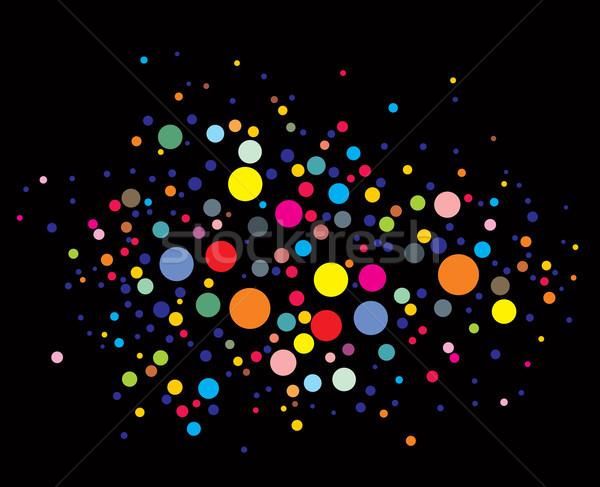 Stock foto: Disco · Lichter · Muster · schwarz · Licht · Design
