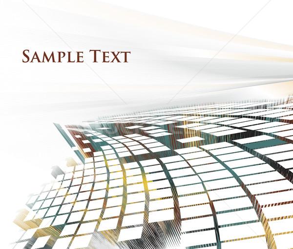 3d mosaic  Stock photo © redshinestudio