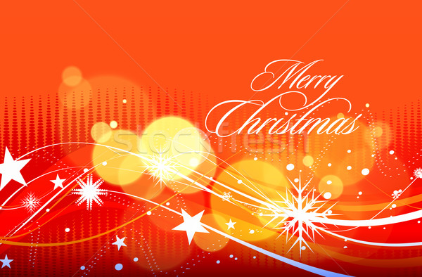 Christmas colorful design Stock photo © redshinestudio
