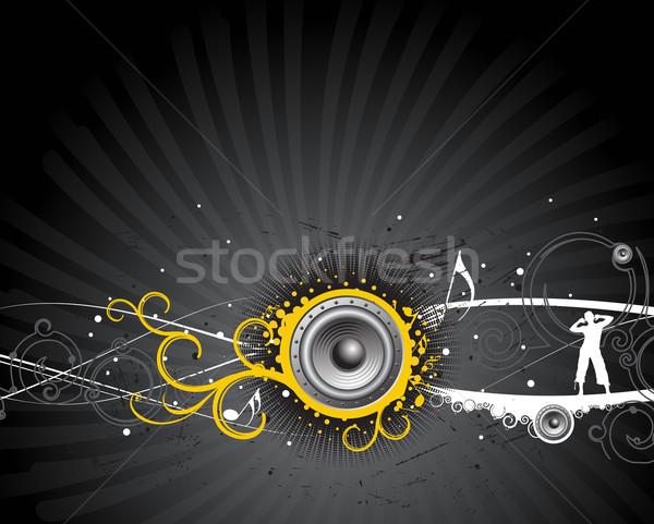 music composition Stock photo © redshinestudio