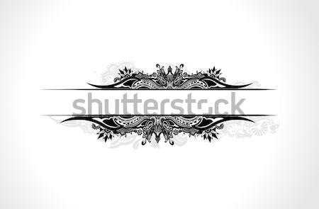 floral banner Stock photo © redshinestudio