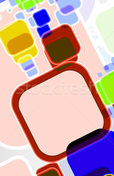 Abstract mosaic colorful background Stock photo © redshinestudio