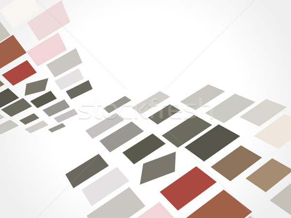 abstract mosaic design Stock photo © redshinestudio