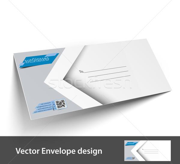 紙 封筒 テンプレート プロジェクト デザイン ビジネス ストックフォト © redshinestudio
