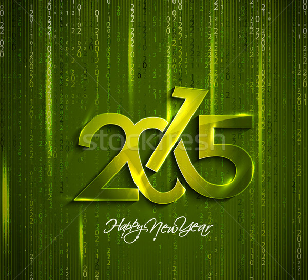 Happy New Year 2015 Background  Stock photo © redshinestudio