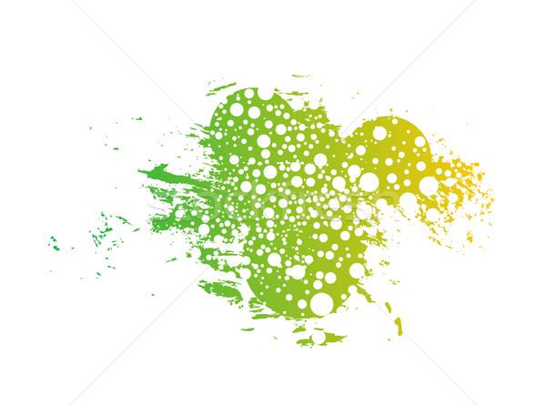 抽象的な グランジ レトロな 緑 スペース デザイン ストックフォト © redshinestudio
