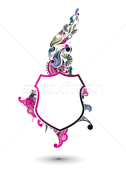 heraldic shields Stock photo © redshinestudio
