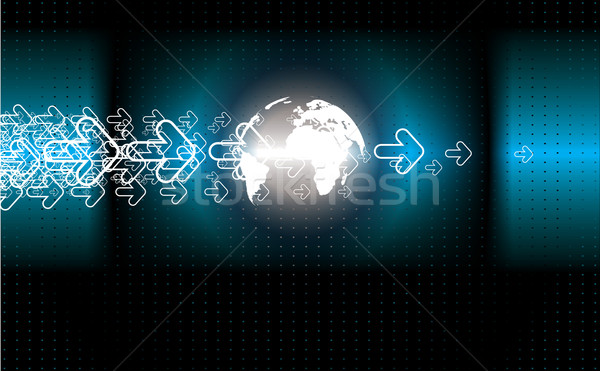 technology background Stock photo © redshinestudio