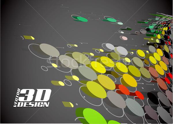 аннотация полутоновой вектора текстуры красоту дискотеку Сток-фото © redshinestudio