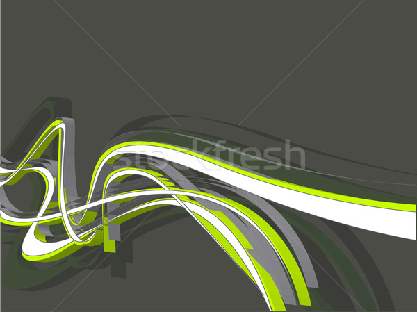 abstract wave background Stock photo © redshinestudio