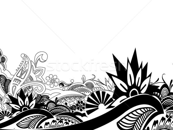 Floral pattern Stock photo © redshinestudio