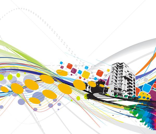 urban city  Stock photo © redshinestudio