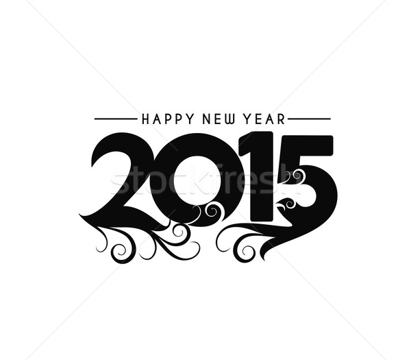 Happy new year 2015  Stock photo © redshinestudio