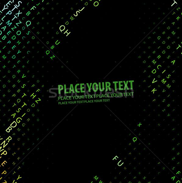 Digitális program kód üzlet földgömb terv Stock fotó © redshinestudio