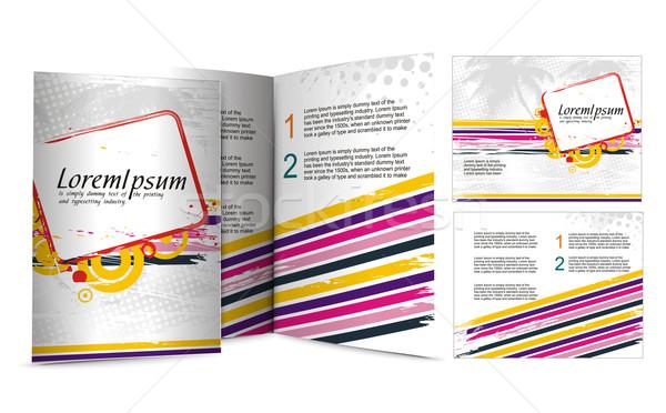 Stock photo: brochure design