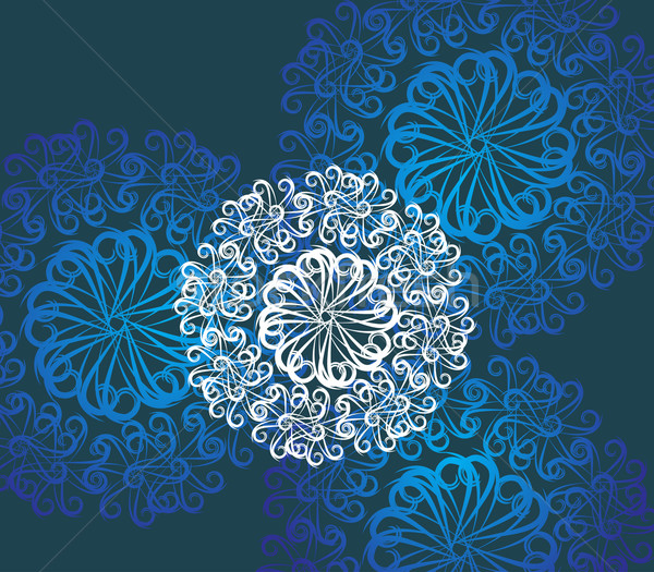 Abstract floral background Stock photo © redshinestudio