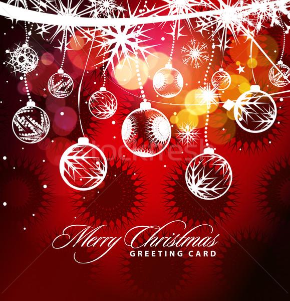 Christmas Background Stock photo © redshinestudio