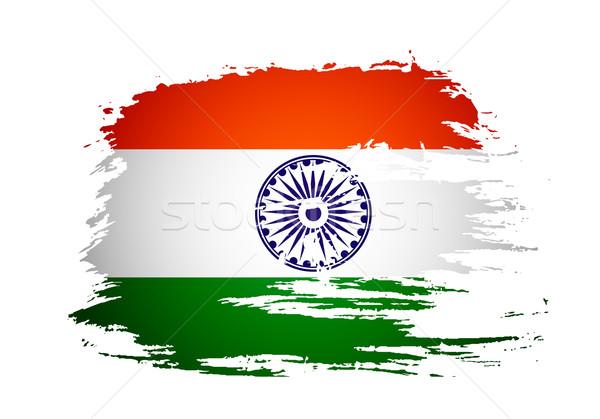 India flag  Stock photo © redshinestudio