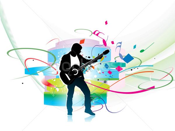 Stock photo: music theme