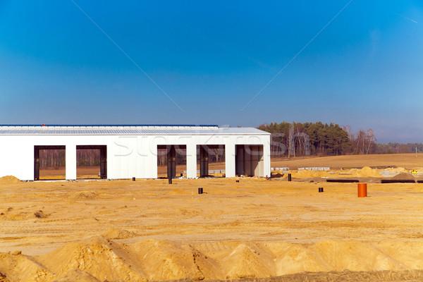 Store gebouw bouwplaats kleur bouwen groei Stockfoto © remik44992