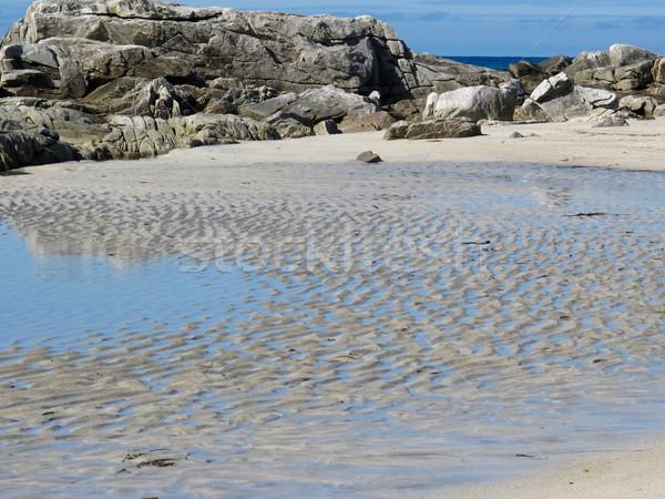 Norvège plage pittoresque paysage nature montagne Photo stock © remik44992