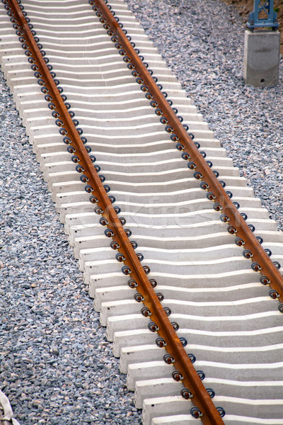 Railway track Stock photo © remik44992