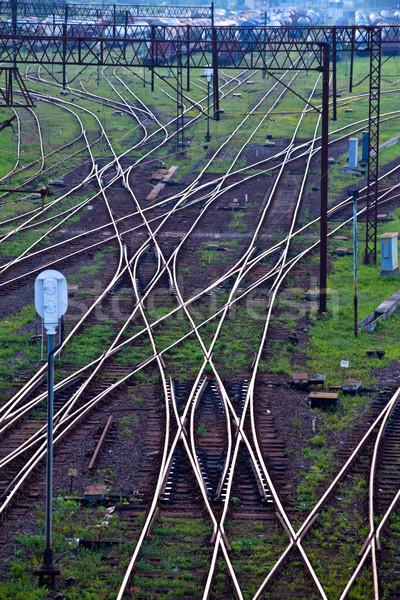 Railway network Stock photo © remik44992